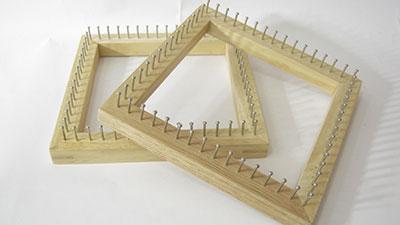 บล็อคไม้สี่เหลี่ยม