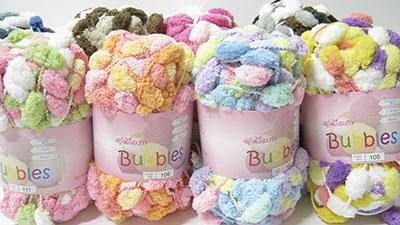ไหมพรมอุ่นไอรัก Bubbles